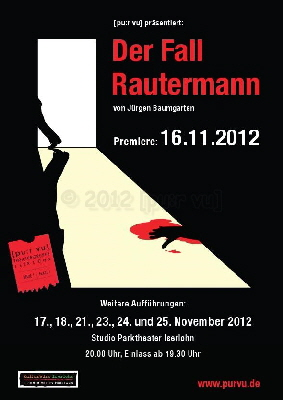 Plakat Der Fall Rautermann